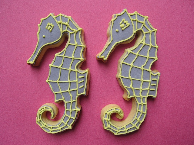 seahorse cookies from consumed by cake
