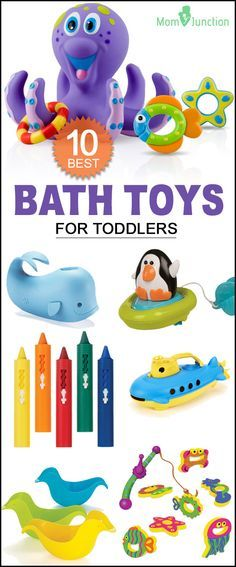 Are you struggling to make bath times interesting for your toddler? Well, invest in some bath toys. Here is a list of 10 best bath toys for toddlers that are super entertaining