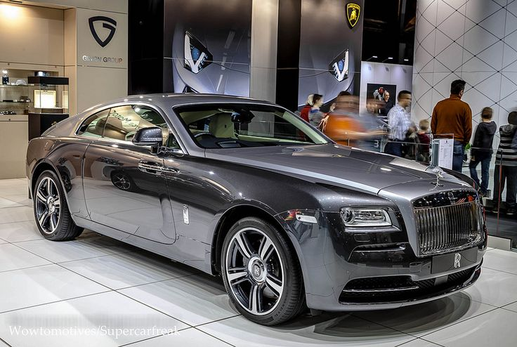 Rolls Royce Wraith....seriously...I mean seriously. My heart stops