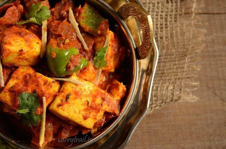 Kadhai paneer(Karahi Paneer) Recipe