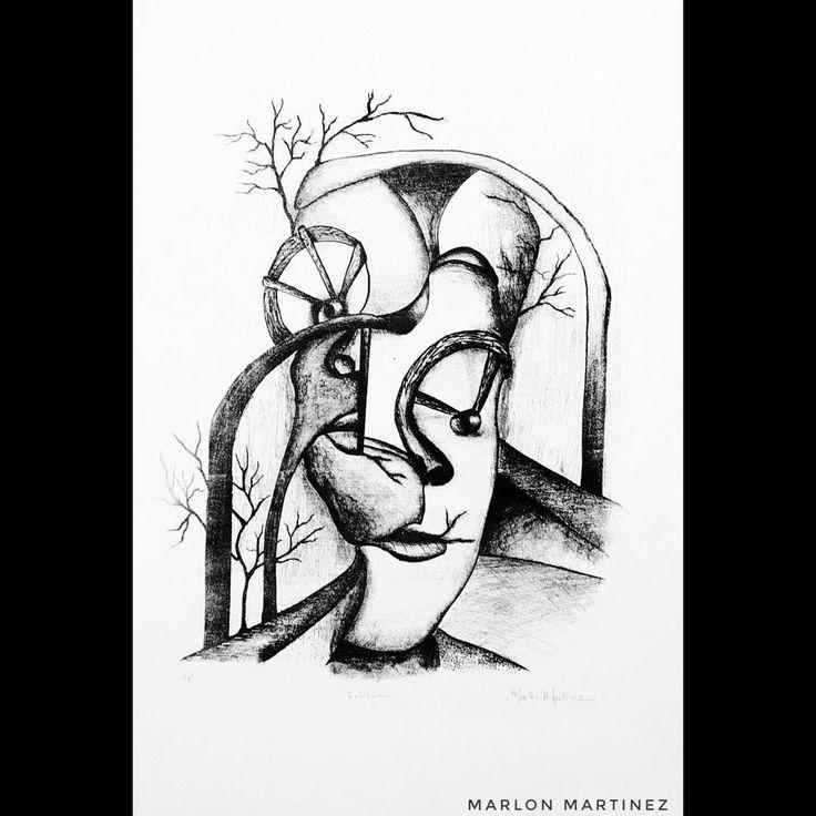 Portfoliodesign Ideas: Imitations 22x30. Lithograph. Arches Watercolour Paper