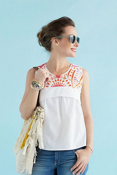 Daisy Top #anthropologie