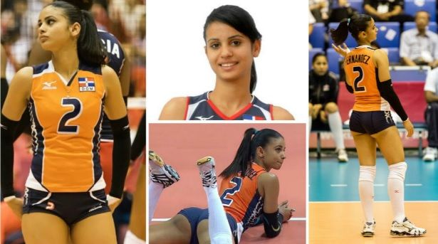 Winifer Fernández is a 21-year-old Dominican volleyball player, who is breaking…