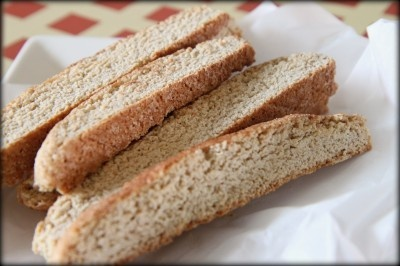 Easy Light Snickerdoodle Biscotti- a great holiday gift to give from MomAdvice.com.
