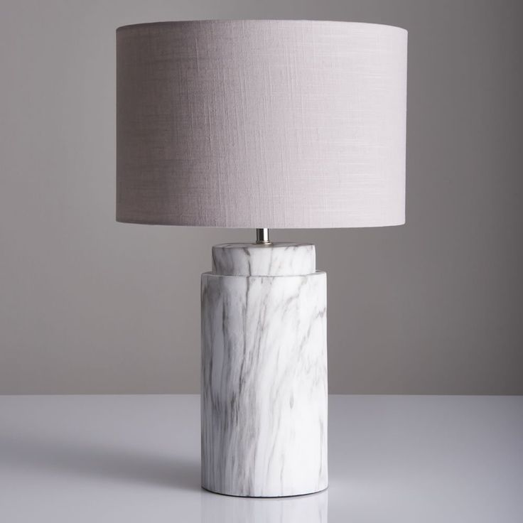 Faulkner Copper Touch Table Lamp Grey