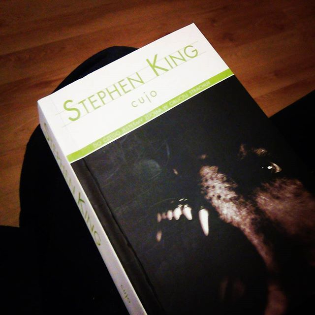 Może by tak dziś zobaczyć co Stefan napisał. #ksiazka #book #stephenking #cujo #instabook #bookstagram #reading #horror #TwojaKulturaPL