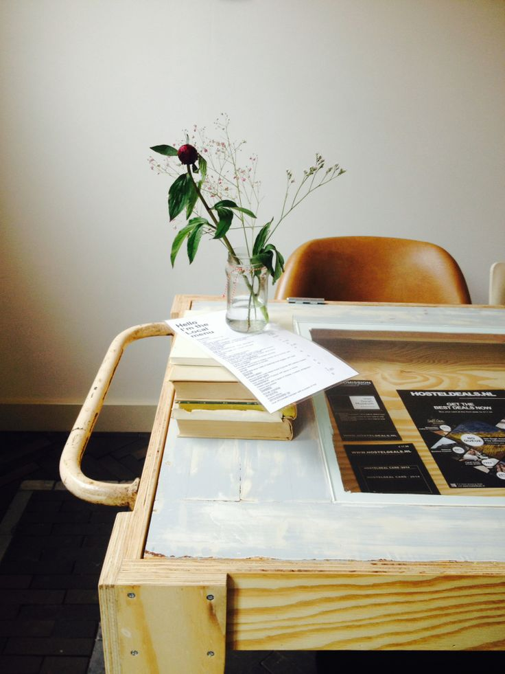 www.helloimlocal.com picture made by earlyblackbirdy styling wooden table, leather chair, books and a rose