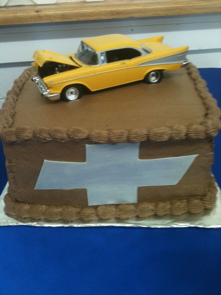 57 Chevy grooms cake