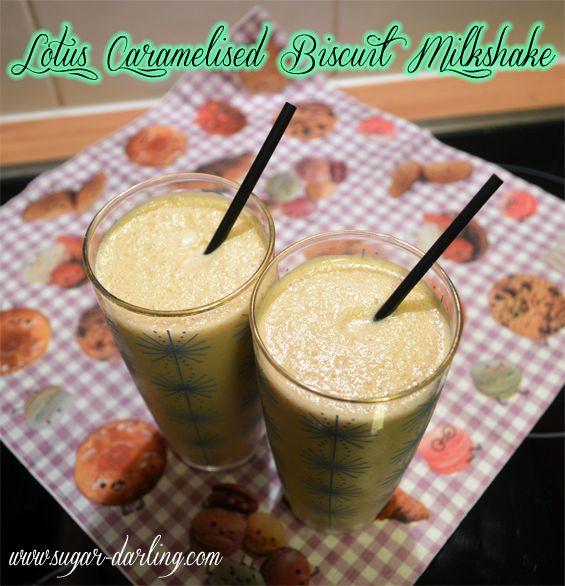 Sugar, Darling?: Lotus Caramelised Biscuit Milkshake Recipe