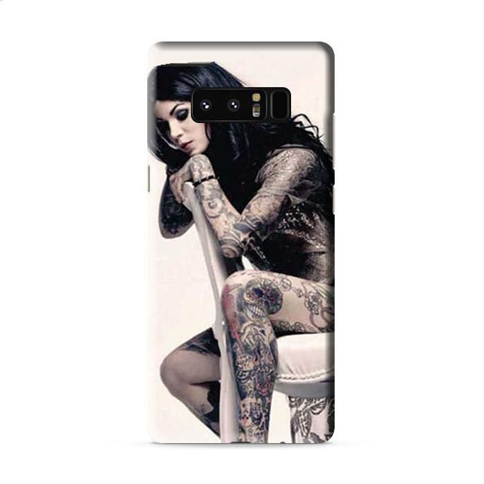 Kat Von D tattoos chair Samsung Galaxy Note 8 3D Case Caseperson