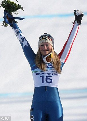 Lindsey Vonn= who i want to be like when i grow up