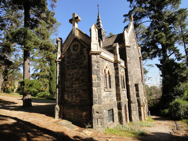 the Chapel at Montsalvat.