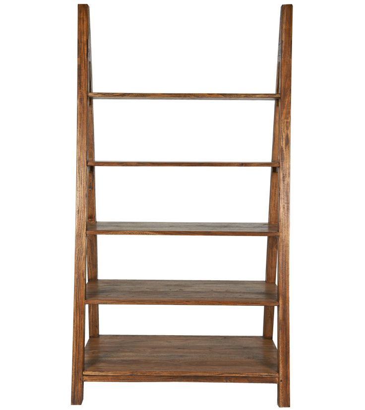 Sherwood Shelving Unit - A classic trestle style range, every single item within our Sherwood collection has been beautifully crafted and individually finished to create a unique aged and distressed appearance. Made from solid wood and wood veneer constructed around balsa wood. - Sherwood