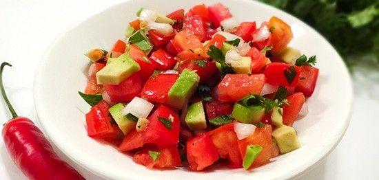 Tomato Avocado Salsa