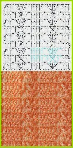 150 PONTOS FANTASÍA EN CROCHET CON GRÁFICOS PATRONES | Patrones Crochet, Manualidades y Reciclado
