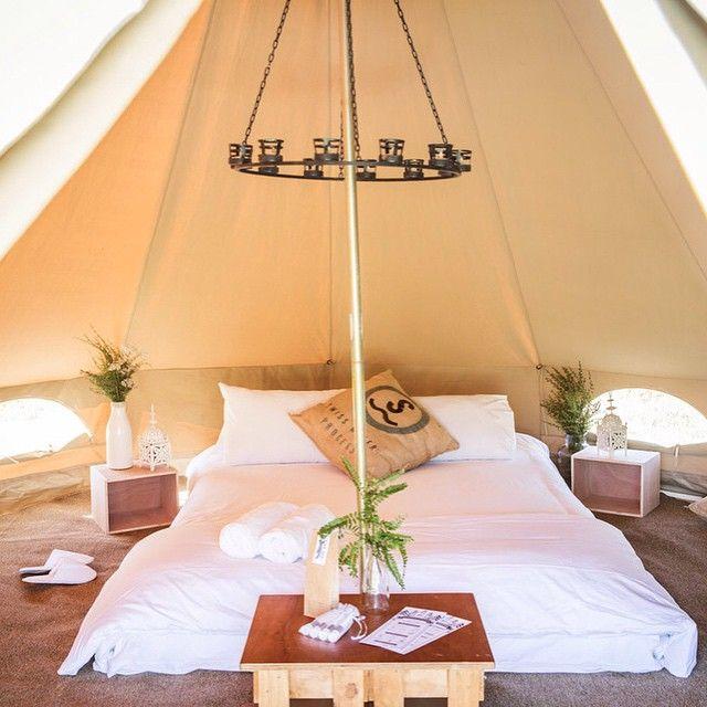 Bell Tent Decor