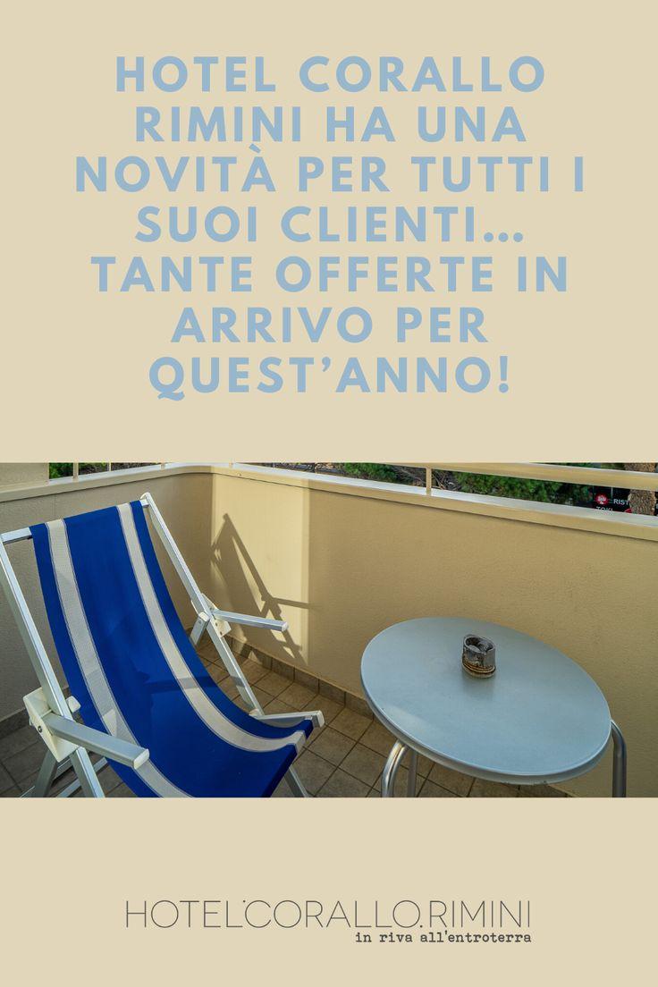 Hotel Corallo Rimini nel 2020   Hotel, Rimini, Lettini da ...