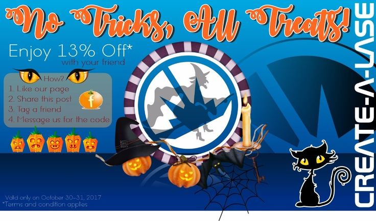 Don't missed this awesome Halloween treats! For more details check it here: http://ift.tt/2xyIKaG  #happyhalloween #halloweentreats #notricksalltreats #createalase