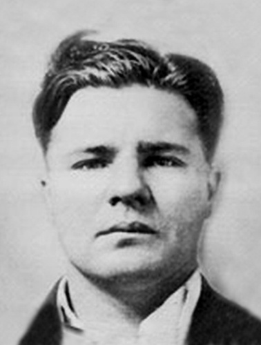 "Charles Arthur ""Pretty Boy"" Floyd. My great grandfather and my husbands great grandfather were both Chiefs of Police in their towns and also active in the capture/demise of Pretty Boy Floyd."