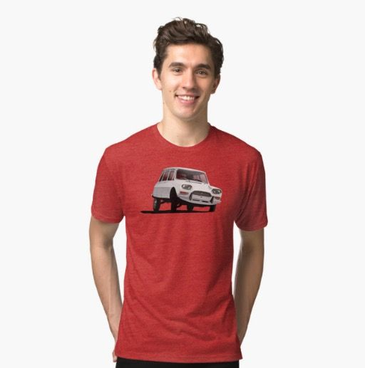 CItroën Ami 8 T-shirt in Zazzle.  http://automobile-t-shirts.blogspot.fi/2016/05/citroen-ami-8-break-t-shirts-and-gifts.html  #citroen #citroenami #ami8 #illustration #carillustration #automobile #classiccar #citroën #citroënami #tshirt #redbubble