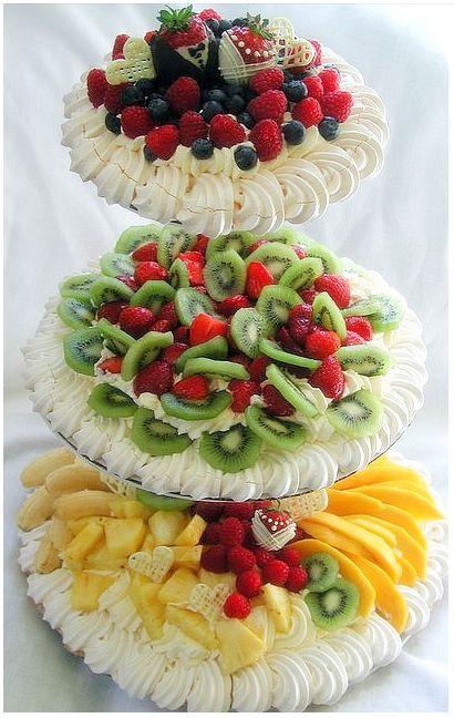 Style de la nourriture d'affichage de fruit