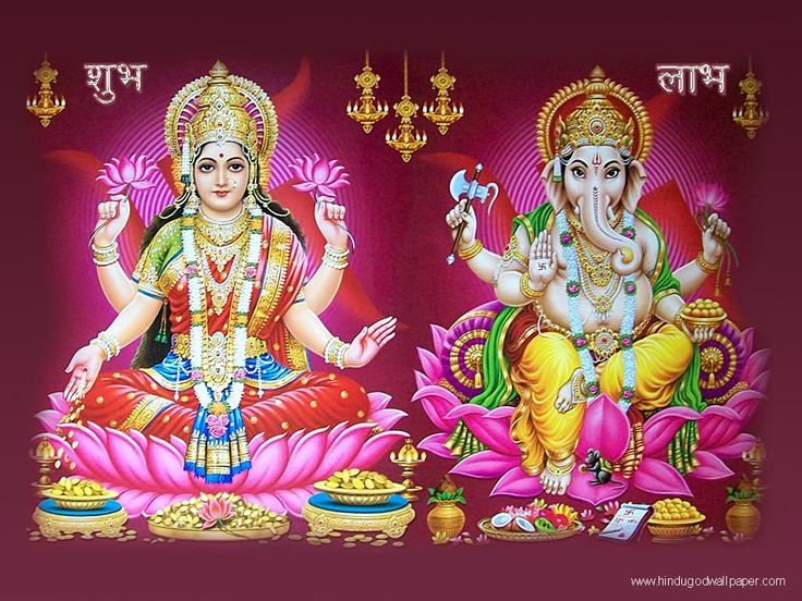 17 Best images about Laxmi Ganesh Wallpapers on Pinterest