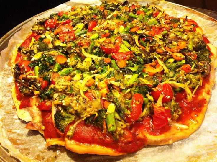 No crust pizza