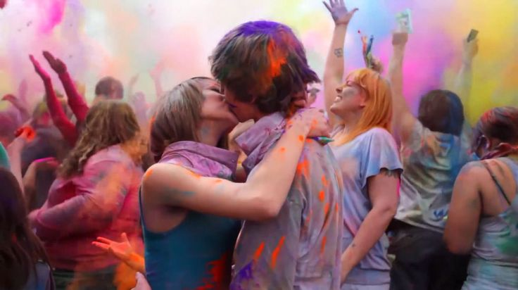 fête des couleurs, c'est parti !