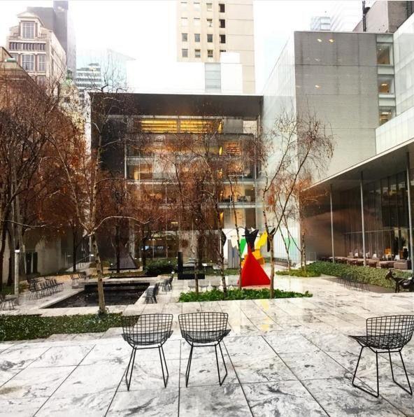 Cafeteria-jardín del Moma de NY // Patrizia Conde
