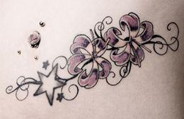 Stargazer lily tattoo