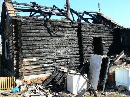 Трое детей погибли в пожаре