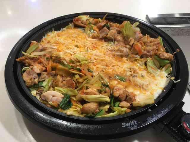 チーズタッカルビ風!肉野菜炒めの画像