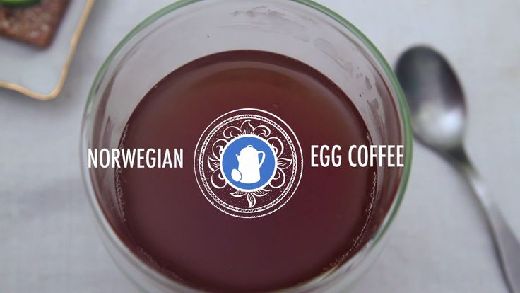 Norwegian Egg Coffee