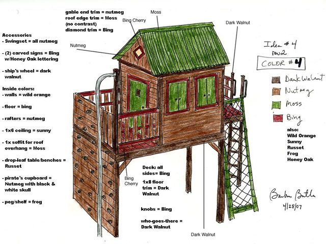 Barbara Butler-Forest Hideaway: Forest Hideaway-Extraordinary Play Structures for Kids