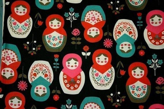 Big Matryoshka Russia Nesting Dolls Print by beautifulwork on Etsy, $4.50