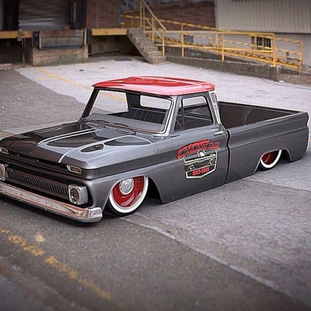 Owner { @c10era60_66 } shop truck Follow ✅{ @triple_w_rodshop } ✅{ @slammed.status } ✅{ @ramblin_hotrods }