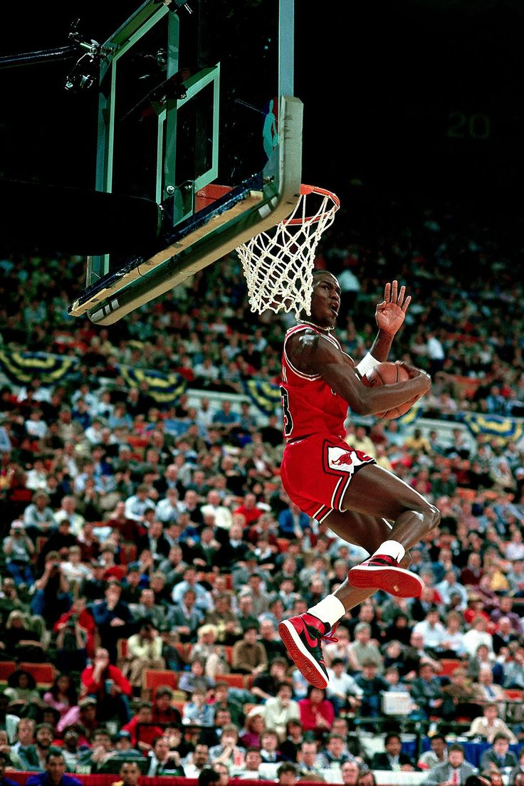 "Michael Jordan All-Star Slam Dunk Contest 1985 // Jordan Brand Announces the Return of the Air Jordan 1 Retro High ""Banned"" - EU Kicks: Sneaker Magazine"