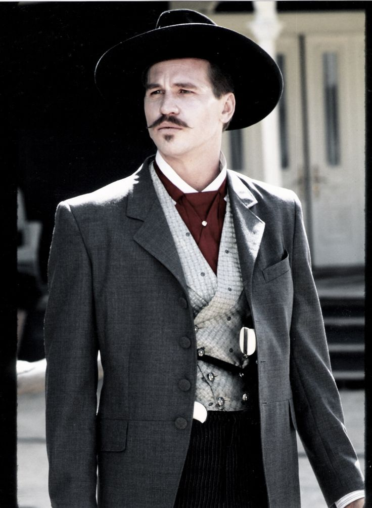 Tombstone.  Val Kilmer as Doc Holiday in one of our designs.  #josephporrodesigns