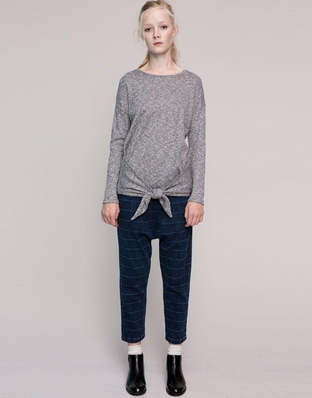 Gestreifte jeans damen