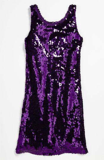 Un Deux Trois Sequin Tank Dress (Big Girls) available at #Nordstrom