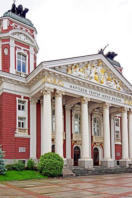 Ivan Vazov National Theatre, Sofia, Bulgaria. By Dennis Jarvis
