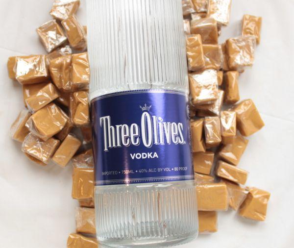 Salted Caramel Vodka