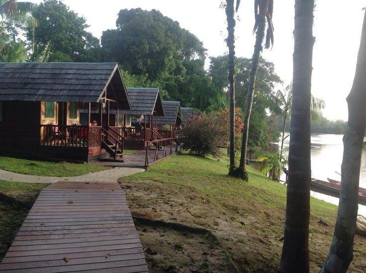 Dan Paati riverlodge. Aanrader voor een paar dagen, traditionele dorpen bezoeken, de natuur ontdekken en de medicinale planten, onstpannen in een hangmat op je eigen veranda...Boottochtje, vissen, zwemmen...en de opbrengst gaat voor een deel naar lokale projecten en het dorp Dan.