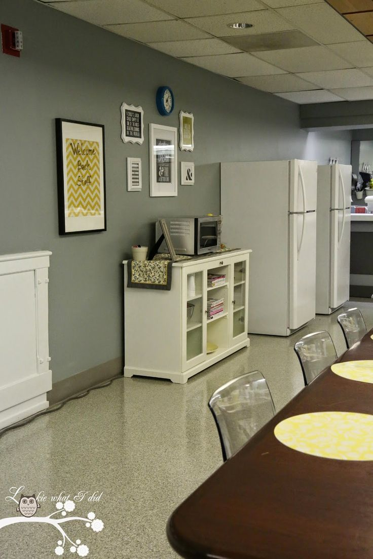 Lookie What I Did: Teacher Lounge Makeover