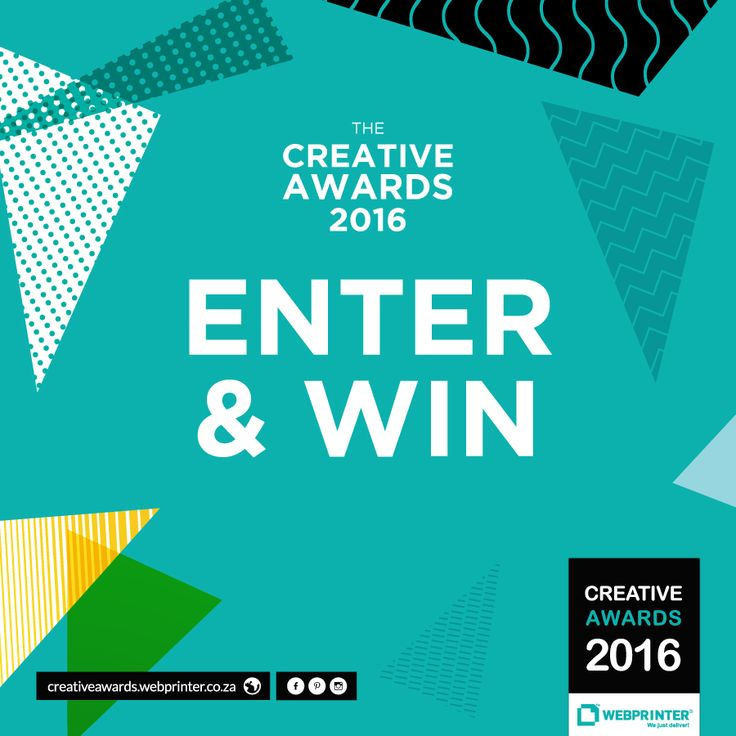 #Design Students: Entries have opened! Are you ready to #WINBIG??? Enter now: http://creativeawards.webprinter.co.za/