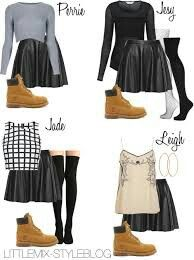 I'll rock, the Grey && the Black oufit