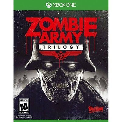 awesome XBOX ONE Zombie Army Trilogy BRAND NEW SEALED FREE SHIPPING - For Sale View more at http://shipperscentral.com/wp/product/xbox-one-zombie-army-trilogy-brand-new-sealed-free-shipping-for-sale/