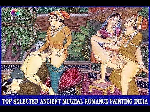 TOP SELECTED ANCIENT MUGHAL ROMANCE PAINTING /10th-16th CENTURY/ HISTORI...