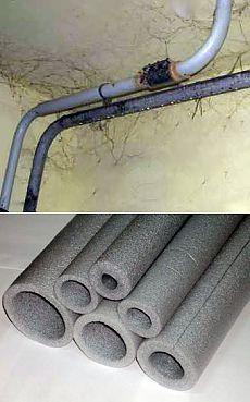Как избавиться от конденсата на трубах |Строительство и ремонт своими руками
