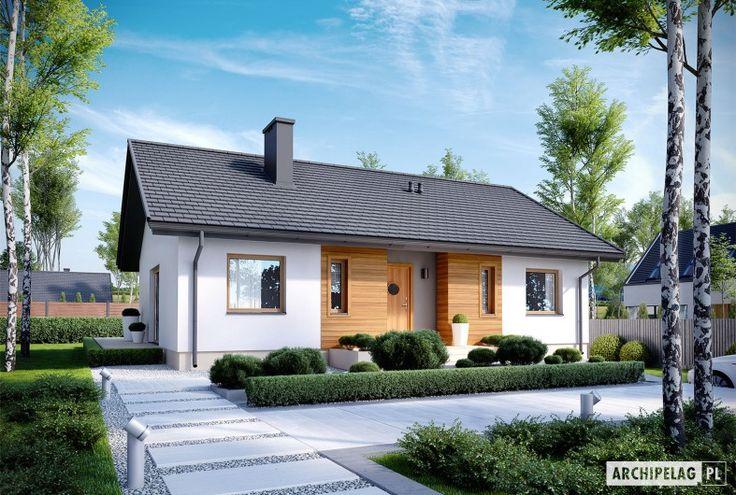 Projekty domów ARCHIPELAG - Kornel V ENERGO